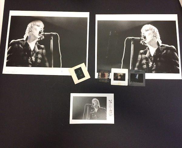 Hazel O Conner rare Photos and Transparencies