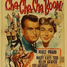 Cha Cha Cha Boom Poster 1956