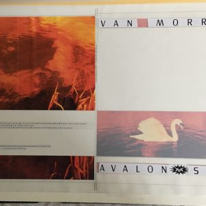 The Original album cover artwork for Van Morrisons Avalon Sunset