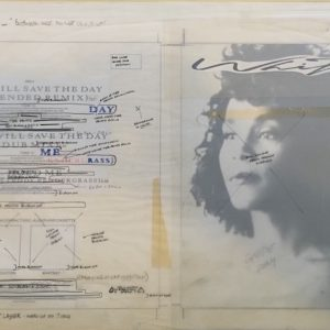 Whitney Houston The Original Master Studio artwork for Love Will Save the Day