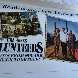Volunteers, Tom hanks John Candy Original Promo Art for the Film