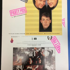 Beatles Paul McCartney Spies LIke Us an original 12″ Single cover proof artwork