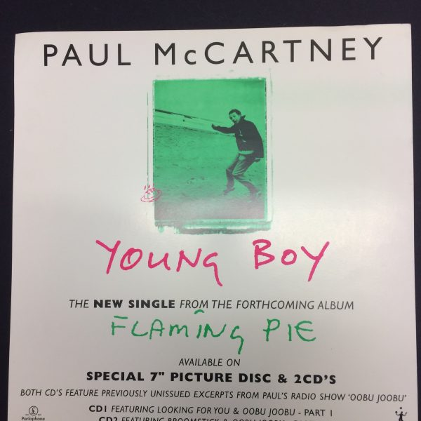 Beatles PAUL MCCARTNEY Album Divider for Young Boy