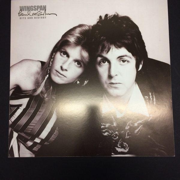 Beatles Wings record store divider for Wingspan album