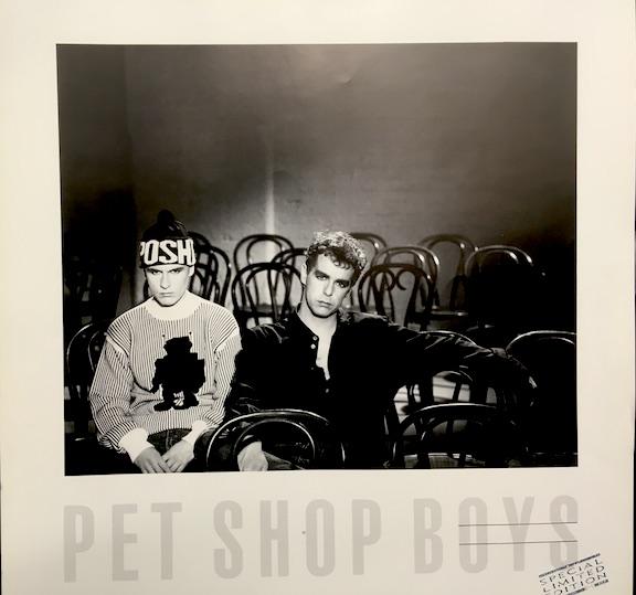 Pet Shop Boys Unreleased Always on My Mind Rare Ltd Edition Print