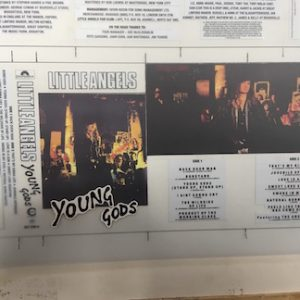 Little Angels Young Gods The Master album artwork on cassette
