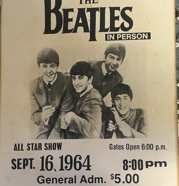 Beatles Fake New Orleans Poster