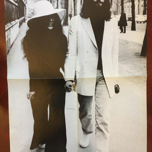 Beatles John Lennon Scarce 1988 Poster