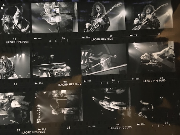 Little Angels rare Contact Sheet for Town Country gig 31st March 1991 24 shots TC0002