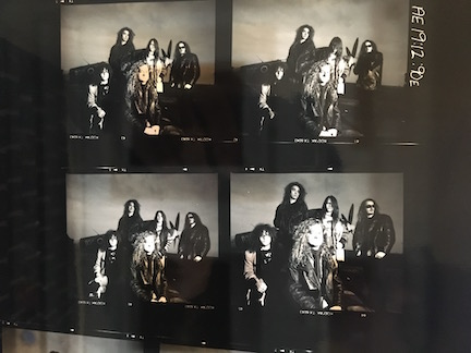 Little Angels rare Contact Sheet for Spitfire Album Cover outtakes 10 shots SP0005