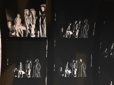 Little Angels rare Contact Sheet for Spitfire Outtake Album cover shoot AE191290P