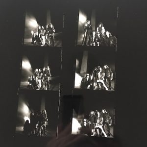 Little Angels rare Contact Sheet for Spitfire Album cover shoot AE19.12.90 LA0002
