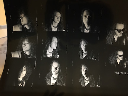 Little Angels rare Contact Sheet for Spitfire Album Cover outtakes 11 shots AE191290L