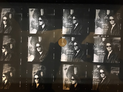 Little Angels rare Contact Sheet for Young Gods Outtake Album cover shoot Mark Plunkett AE 210191C