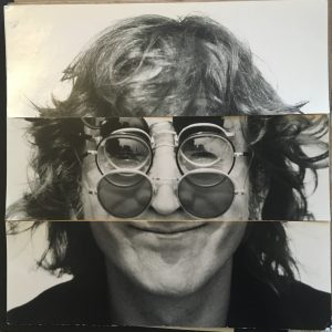John Lennon The Original Album Cover Artwork for Walls and Bridges