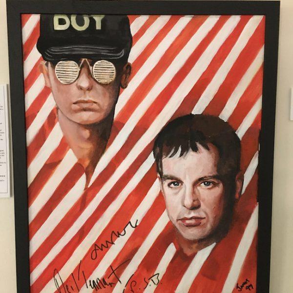Pet Shop Boys Original signed painting