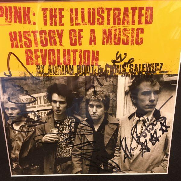 Sex Pistols Signed Book