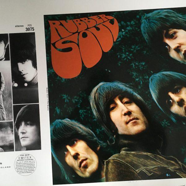 beatles rubber soul original album artwork proof