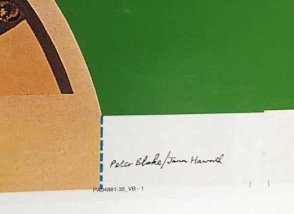 Beatles sgt peppers origin al album art proof