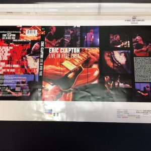 Eric Clapton live in Hyde Park 2001 original proof artwork