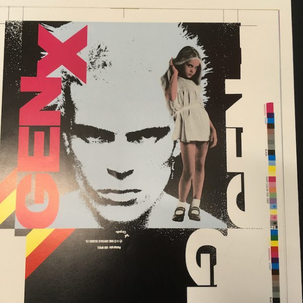 Gen X Billy Idol Dancing With Myself 7 proof