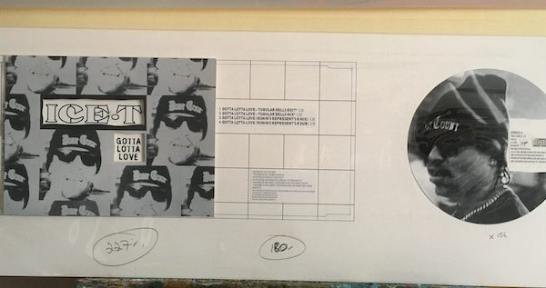 Ice T Gotta Lotta Love Original album Cover Artwork for CD single