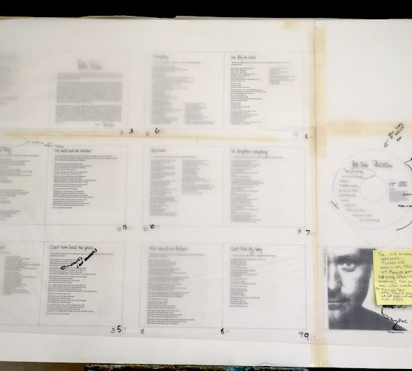 Phil Collins Both Sides of the Story Original album cover artwork