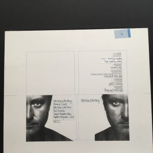 Phil Collins Both Sides of the story 5 trk CD original artwork