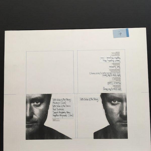 Phil Collins Both Sides of the story 5 trk CD original artwork