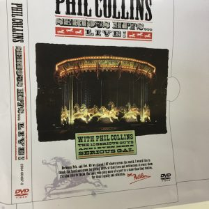 Phil Collins Original album cover artwork Serious Hits Live proof