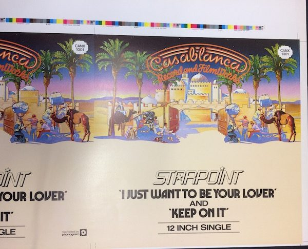 starpoint I just want to be your lover original album cover artwork