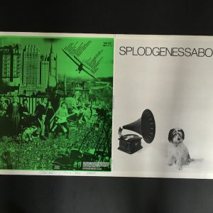 Splodgenessabounds original proof album artwork green