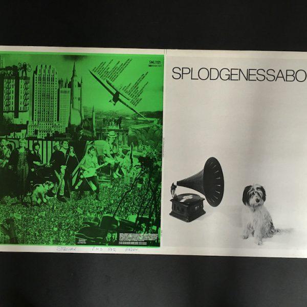 Splodgenessabounds original proof album artwork green