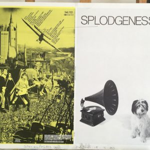 Splodgenessabounds original proof album artwork yellow