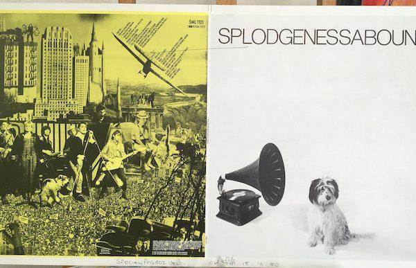 Splodgenessabounds original proof album artwork yellow
