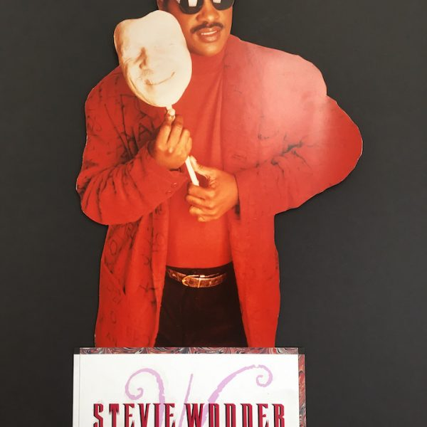 Stevie Wonder Promotional standee for Characters album