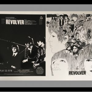 Beatles Original album artwork proof for revolver vinyl LP