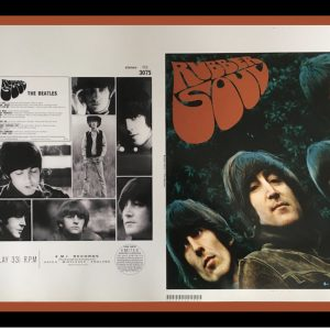 beatles rubber soul original album artwork proof
