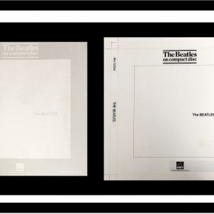 Beatles White Album Original Album Cover Artwork for HMV