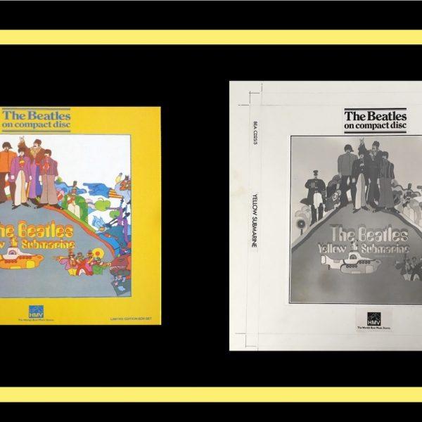 The Beatles Yellow Submarine original album cover art