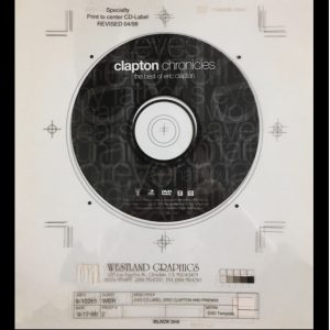 eric clapton clapton chronicles original album cover art