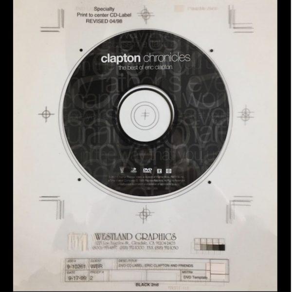 eric clapton clapton chronicles original album cover art