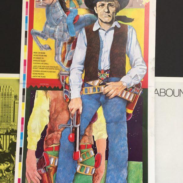 Savoy Brown Decca Original Album cover artwork proof for Jack the Toad