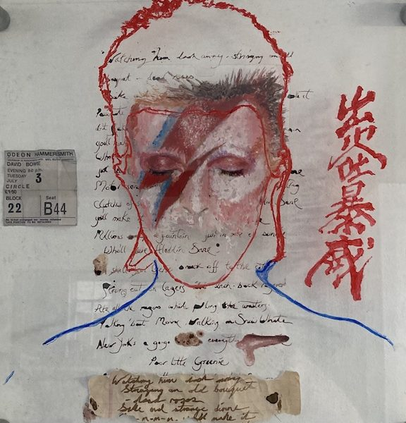 David Bowie Aladdin Sane Album Cover re-imagined by Joe Hope